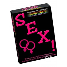 Lesbian Sex! Card Game(bilingual)