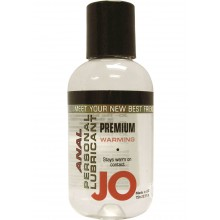 System Jo Premium Warming Anal Silicone Lubricant 2 Ounce Hush USA