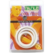 White Nitrile C Ring Set
