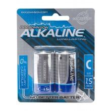 Dj Alkaline Batteries C 2pk