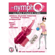 Nympho Ultra Finger Vibe - Pink