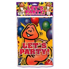 Happy Penis Party Table Cloth (disc)
