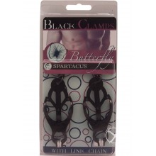 Black Butterfly Clamps