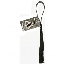 Sandm Beaded Flogger - Noir