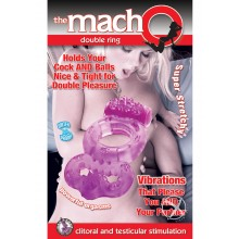 Macho Double Ring Purple