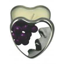 Edible Heart Candle Grape