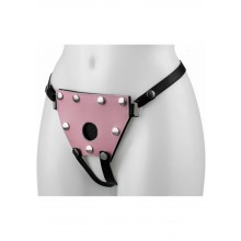 She-stim Pink Adjustable Harness M-l