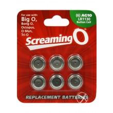 Screamingo6pkbattag10/lr1130(individual)
