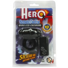 Hero Remote Control Cockring - Black