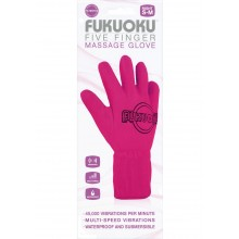Fukuoku Massaging Glove Right Pink