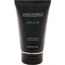 Wicked Jelle Unscented Anal Gel 4oz