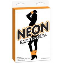 Neon Love Ties Orange