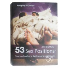 53 Sex Positions Cards (individual)