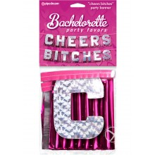 Bp Cheers Bitches Party Banner
