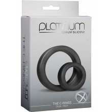 Platinum C-rings Charcoal