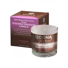 Dona Kissable Massage Candle Choco 4.7oz