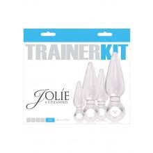 Jolie Trainer Kit 4pc Clear
