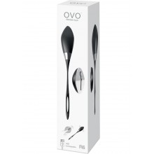 Ovo R6 Remote Black Chrome