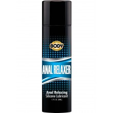 Body Action Anal Relaxer Silicone Lube