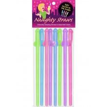 Glow In The Dark Naughty Straws