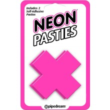 Neon X Pasties Pink
