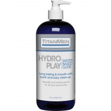 Titanmen Hydro Play Water Glide 32oz