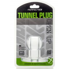 Tunnel Plug Medium Clear