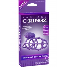 Fcr-vibrating Climax Cage Purple