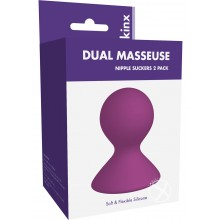 Dual Masseuse Silicone Nip Suckers Kinx