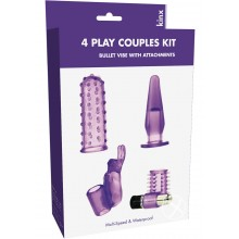 4play Couples Kit Bullet Vibe Kinx