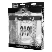 Master Series Seize O-ring Gag/nip Clamp
