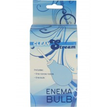 Clean Stream Enema Bulb Red