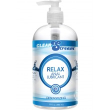 Clean Stream Relax Anal Lube 17 Oz