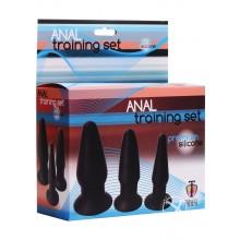 Trinity Silicone Butt Plug Kit - Set 3