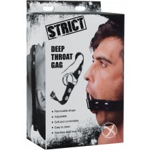 Strict Deep Throat Gag Black