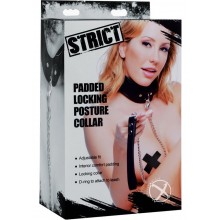 Strict Padded Locking Posture Collar