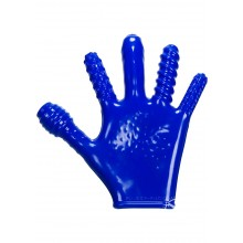 Finger Fuck Glove Police Blue