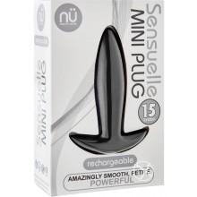 Sensuelle Mini Plug Black