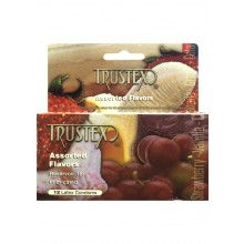 Trustex Asst Flavors 12pk