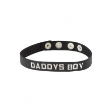 Wordband Collar - Daddys Boy