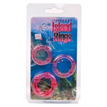 Silicone Island Rings-pink