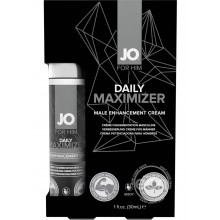 System Jo for Him Daily Maximizer Male Enhancement Cream Hush USA
