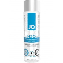 System Jo H2O Cooling Water Based Lubricant 4 Ounce Hush USA