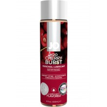 System Jo H2O Flavored Water Based Lubricant Cherry Burst 4 Ounce Hush USA