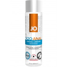 System Jo H2O Warming Anal Water Based Lubricant 4 Ounce Hush USA