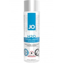 System Jo H2O Warming Water Based Lubricant 4 Ounce Hush USA