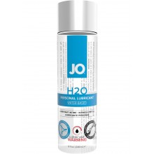 System Jo H2O Warming Water Based Lubricant 8 Ounce Hush USA