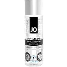 System Jo Premium Cooling Silicone Lubricant 2 Ounce Hush USA