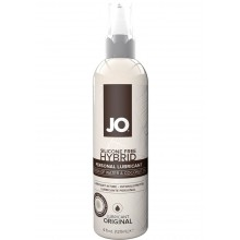 System Jo Silicone Free Hybrid Lubricant Water & Coconut Oil 4 Ounce Hush USA
