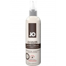 System Jo Silicone Free Hybrid Warming Lubricant Water & Coconut Oil 4 Ounce Hush USA